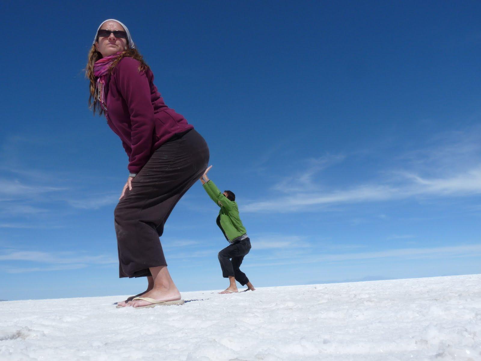 Salar de Uyuni, Bolivia, vuelta al mundo, round the world, La Aventura de Pablo y Elena