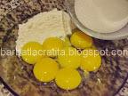 Prajitura cu nuca si crema de vanilie preparare reteta