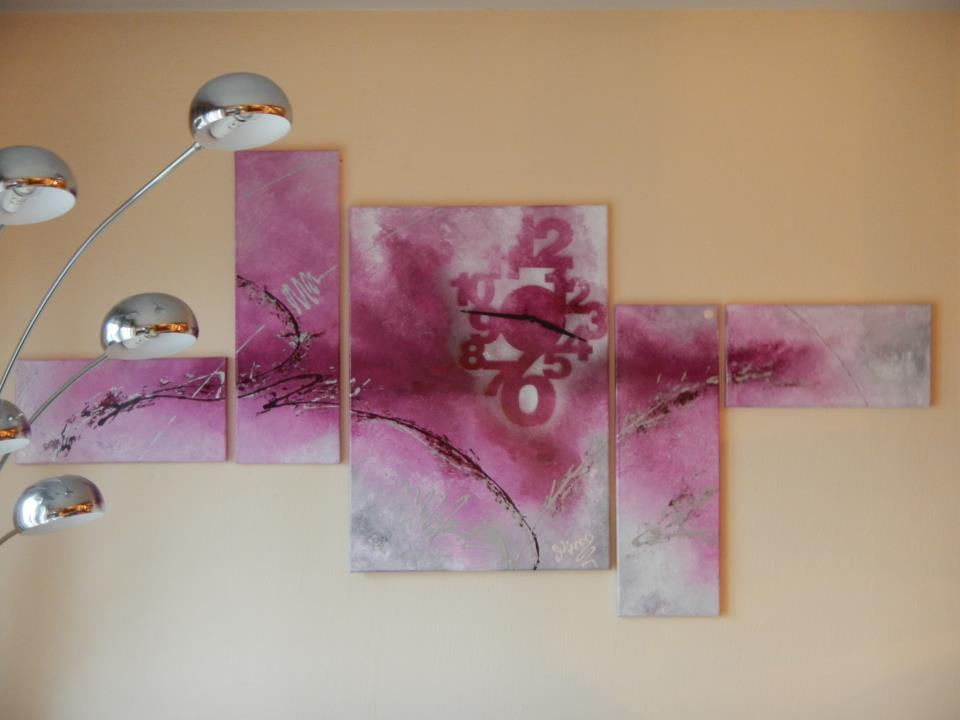 Vos decoration murale tableaux abstrait for Decoration murale usa