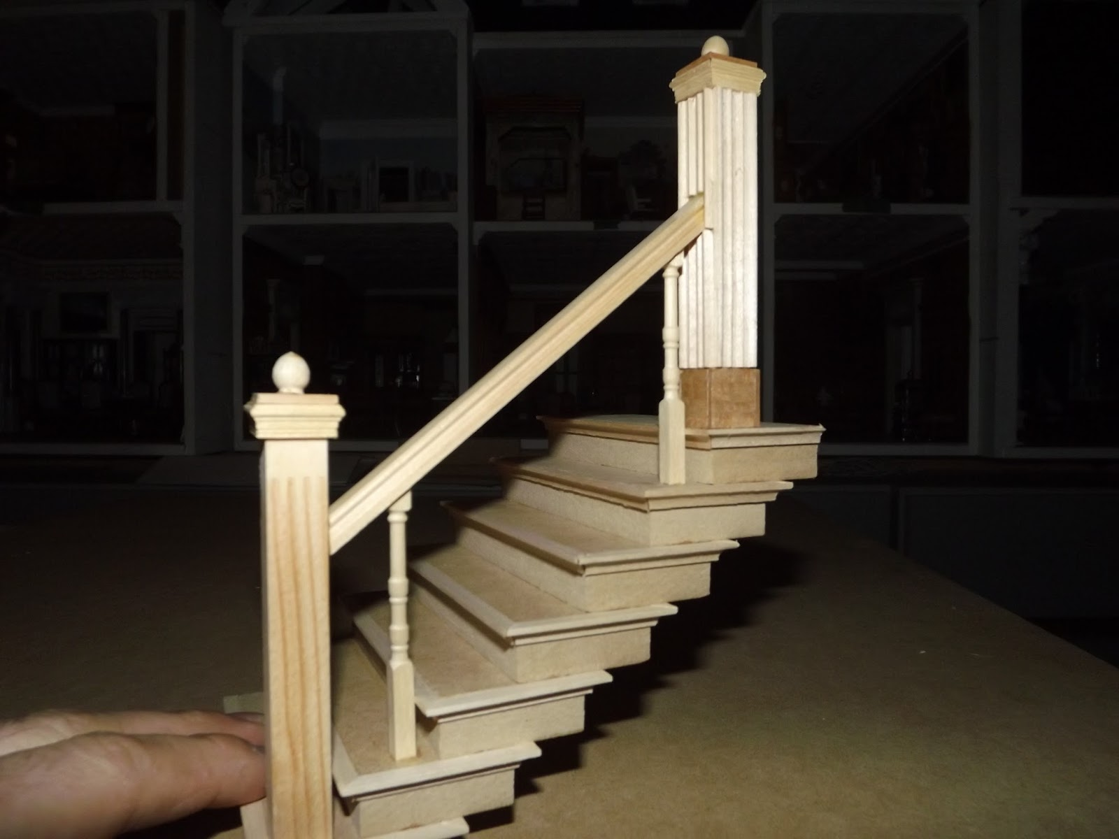 how to make miniature staircase