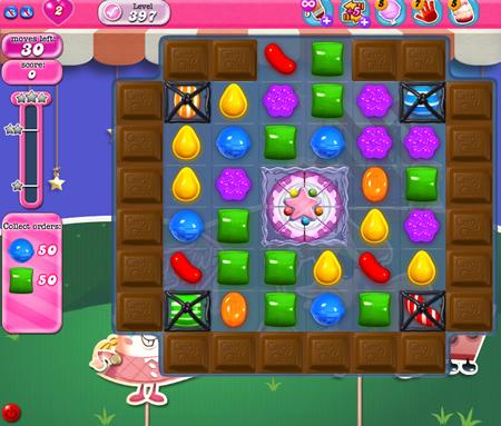 Candy Crush Saga》396-410關之過關心得及影片 in《有誌