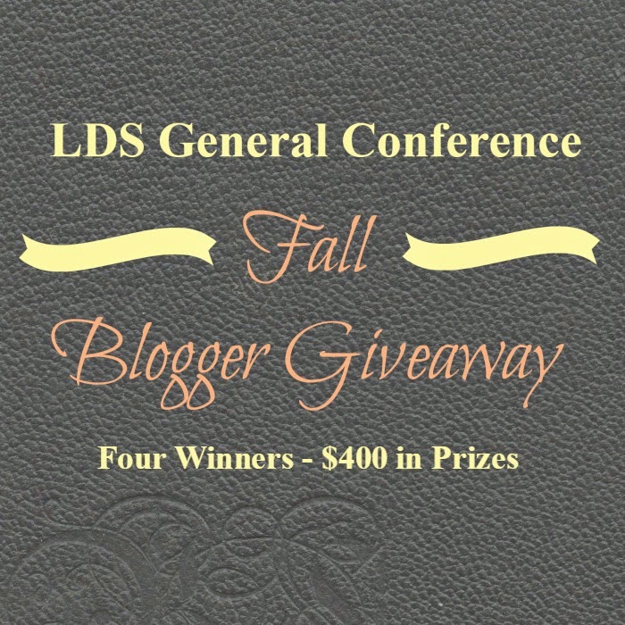 LDS General Conference Fall Giveaway