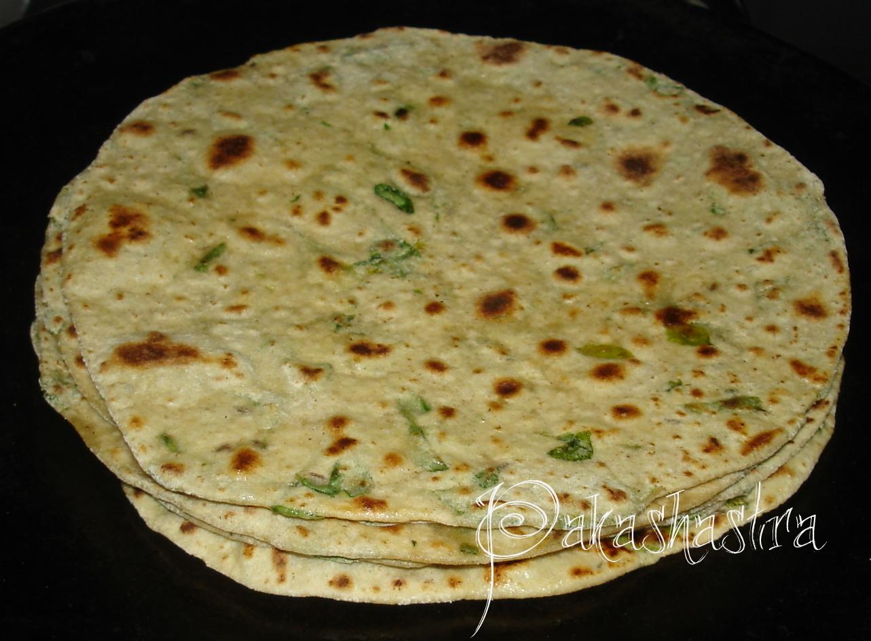 Pakashastra: Methi Chapati - Type 2