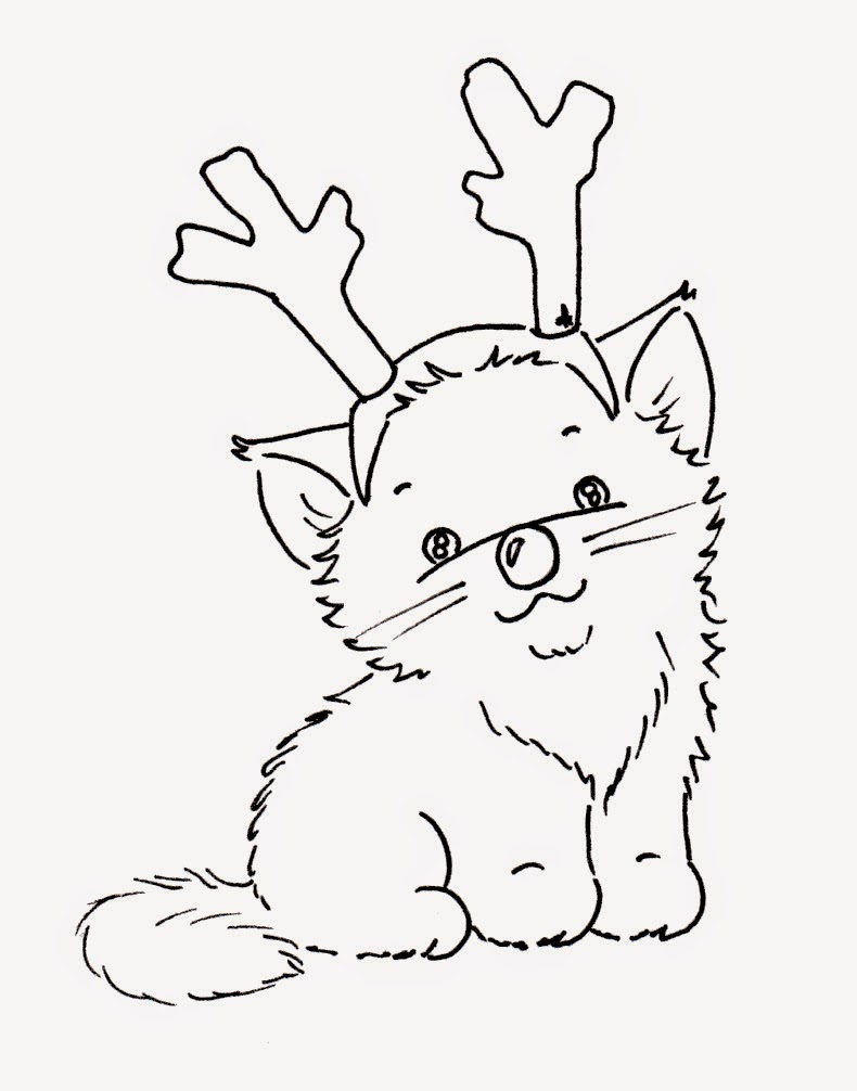 Terrible image with free printable cat coloring pages