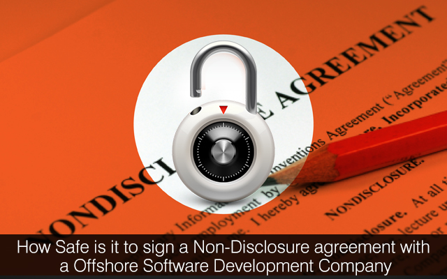 Why It Is Safe To Sign A Non Disclosure Agreement With An Offshore