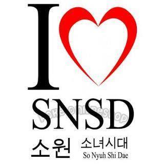 I Love SNSD