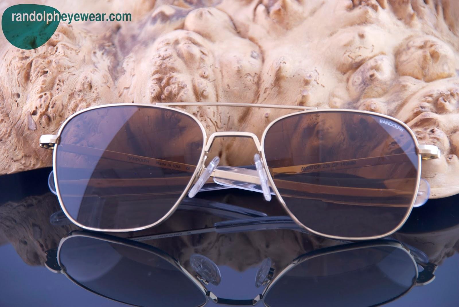 00eb94f3fd Randolph Eyewear  Randolph Aviator Sunglasses - Number One Holiday ...