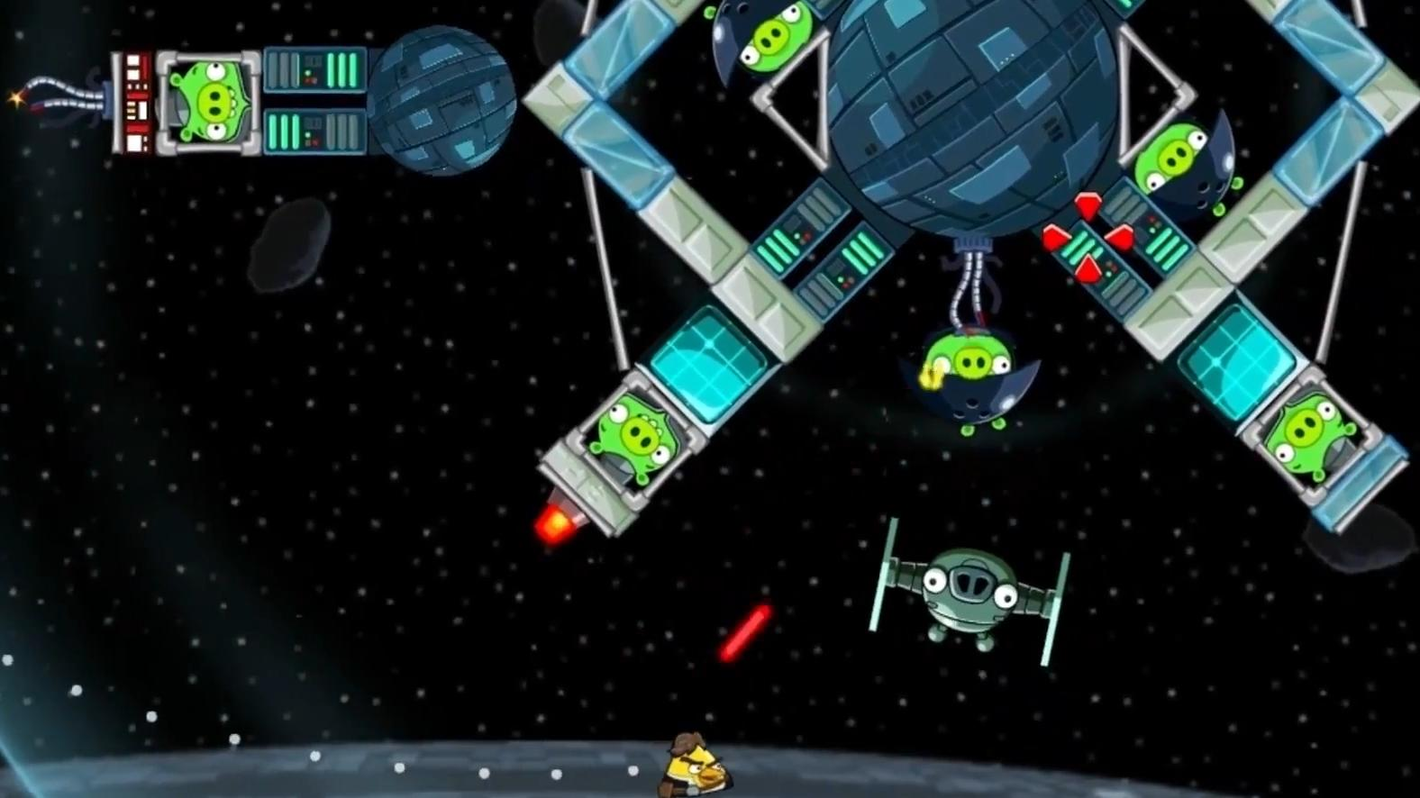 Angry birds star wars iphone ipad review chalgyr 39 s - Angry birds star wars 7 ...