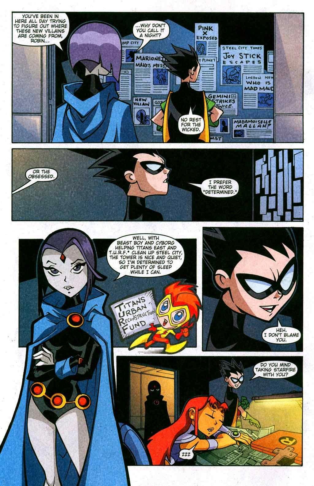 raven comic and titans starfire Teen