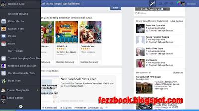 Cara Merubah Tampilan Terbaru Facebook Ke News Feed