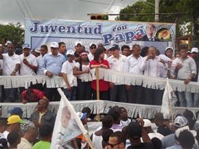 Juventud Revolucionaria Dominicana en SDE celebra el día del desempleo