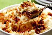 Purê de Batata com Farofa Crocante (vegana)