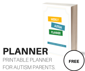 Weekly Autism Planner {Free Printable for Parents} from And Next Comes L