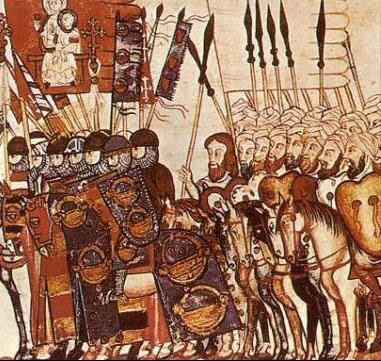 Ejércitos cristiano y musulmán