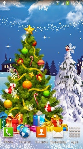 Top christmas wallpaper for android free smartphone merry top christmas wallpaper for android free smartphone voltagebd Image collections