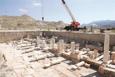 Σιταποθήκες της ρωμαϊκής εποχής αποκαλύφθηκαν στην αρχαία Τρίπολη