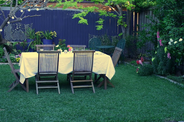 simple dining ideas for al fresco summer gardens