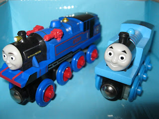 Thomas and Belle to the Rescue Wooden Railway