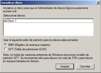 dataram ramdisk en Windows activar unidad de disco