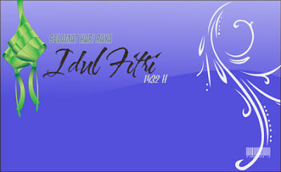Kartu Ucapan Idul Fitri 2011