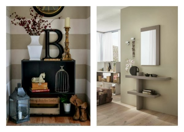 Consigli per la casa e l 39 arredamento imbiancare casa il for Idee colori pareti ingresso