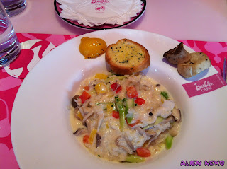 Barbie Cafe Lunch 2: Mushroom Rosotto