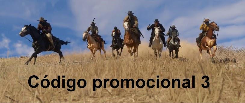Código promocional 3