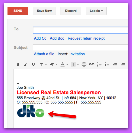 How To Add an Image to Your Google Mail Signature - Google Cloud ...