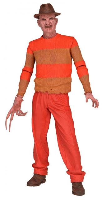 NECA A Nightmare on Elm Street Freddy Keueger NES Version Figure