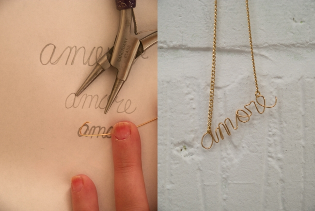 Make your own charm necklace by Randomly Happy