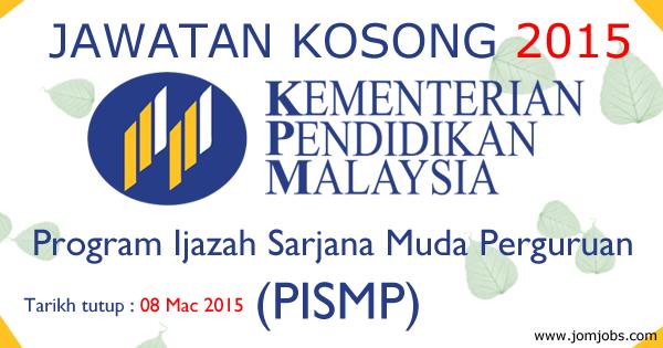 Jawatan Kosong Kementerian Pendidikan Malaysia (KPM) Terkini 2015