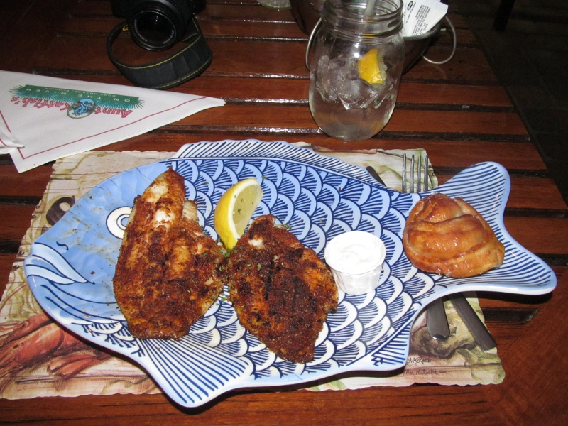 Watch me eat aunt catfish 39 s on the river in port orange fl - Aunt catfish port orange fl ...