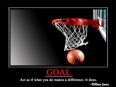 Goal  Act as if what you do make a difference. It does.