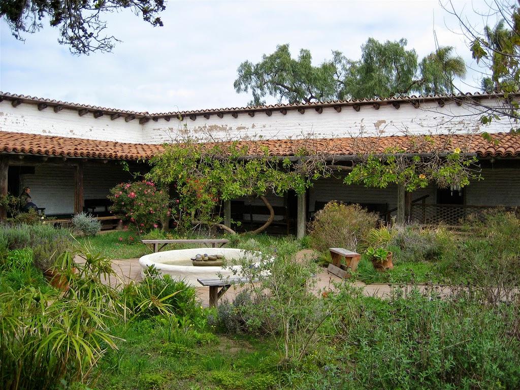 Courtyard Casa De Estudillo