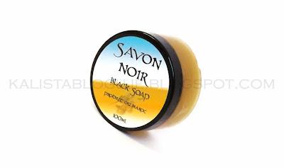 Naturalne czarne mydło- Savon Noir z Maroka