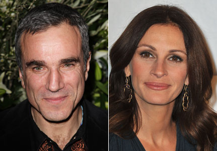 Image result for daniel day-lewis and julia roberts