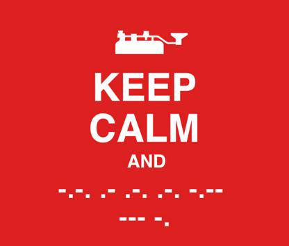 Ham Radio QRP Learn Morse Code – Sample Morse Code Chart