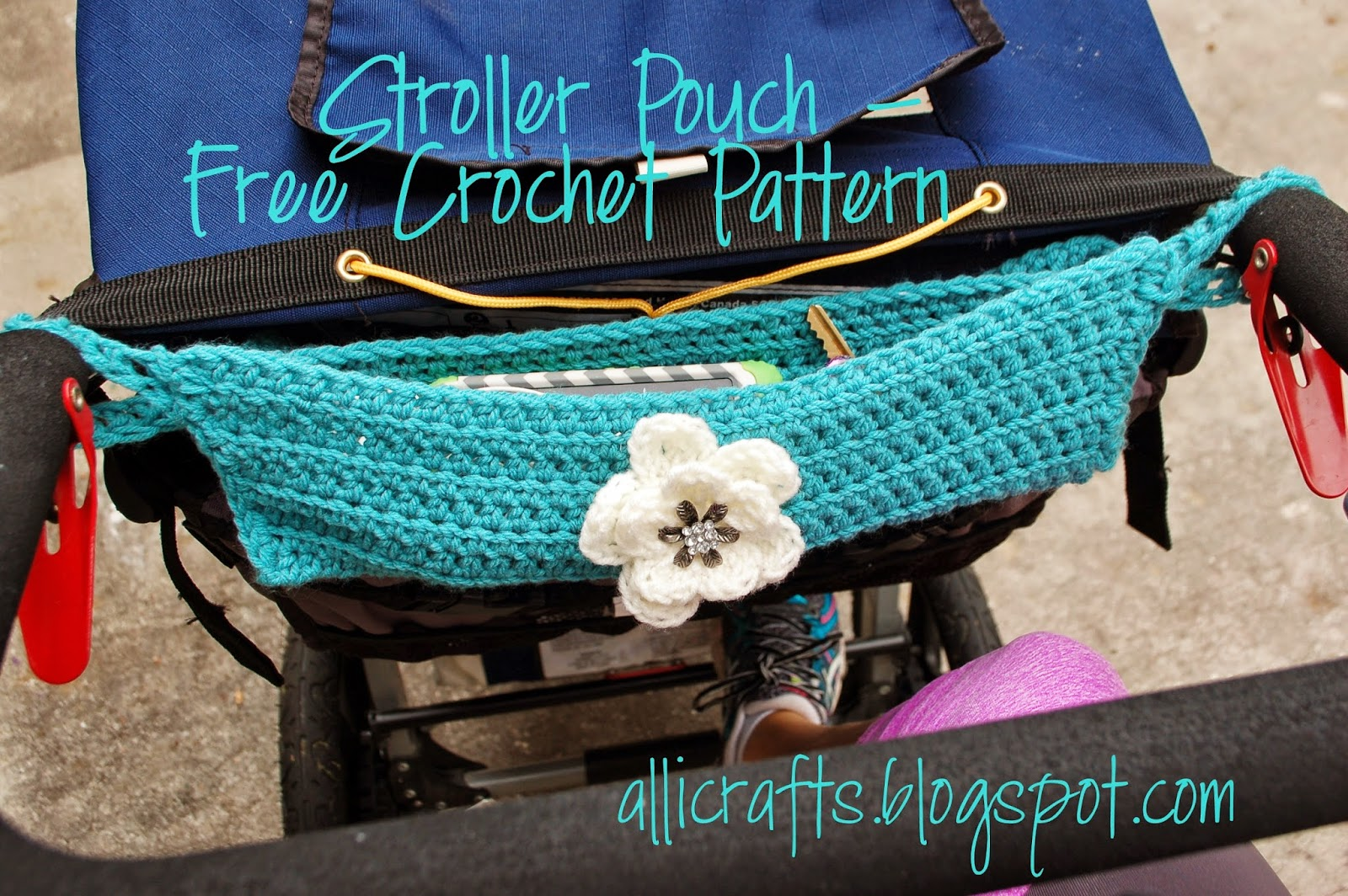 Alli Crafts: Free Crochet Pattern: Stroller Pouch
