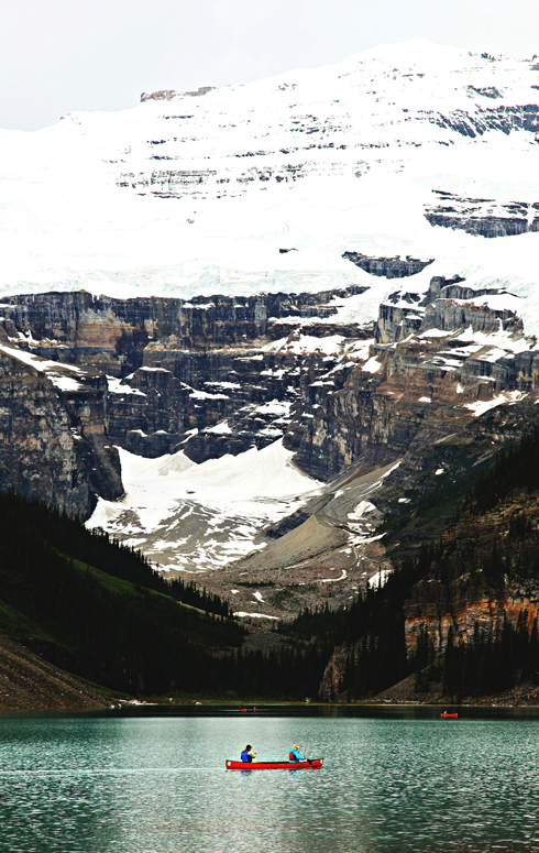 lake louise alberta rocky mountains travel photography