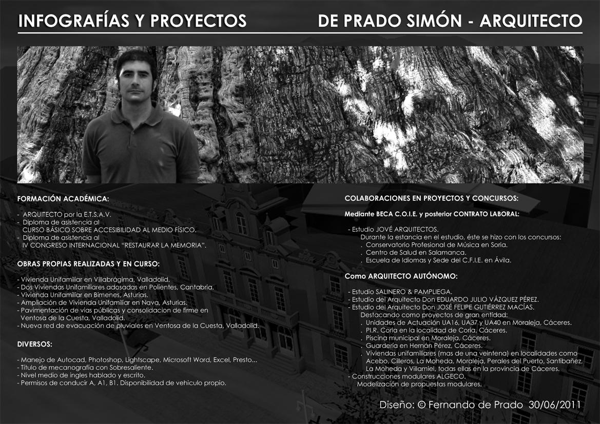 Fant stico curriculum vitae de arquitecto imagen ejemplo for Curriculum arquitecto
