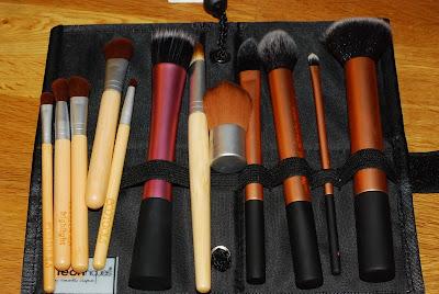 make up borstar, make up penslar, make up brushes, realtecnique