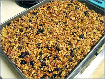 Becky Cooks Lightly | Brown Sugar Granola {Vegetarian}