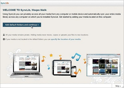 Synclib.com: Access, Sync and Share with Any Device