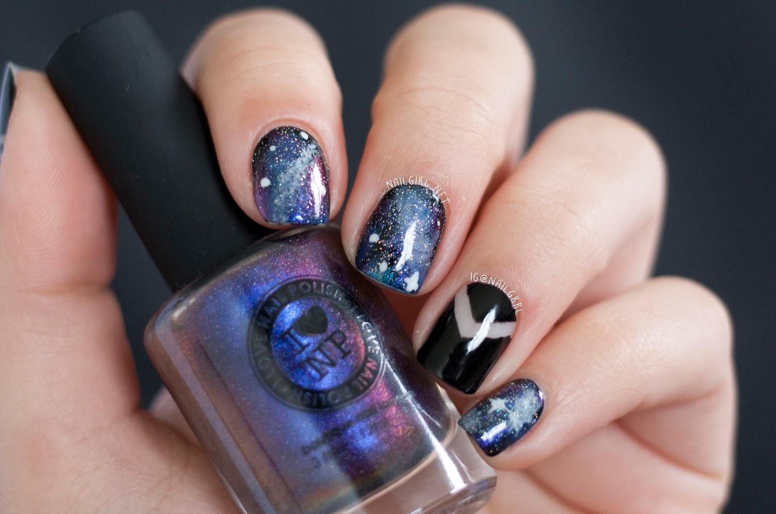 Nail Art: Galaxy Nails | Alexis Adrienne
