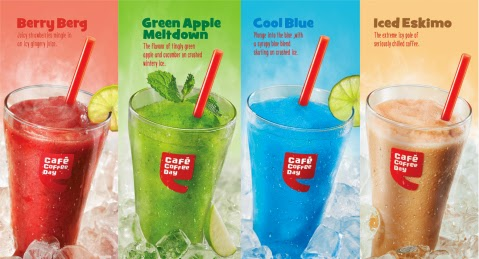 Cafe Coffee Day Brain Freeze Slushes