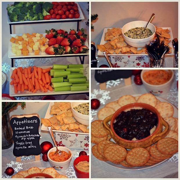 winter wonderland party appetizer
