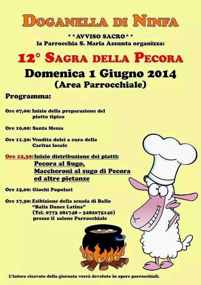 Sermoneta 12 sagra della pecora a doganella di ninfa 1 for Doganella di ninfa