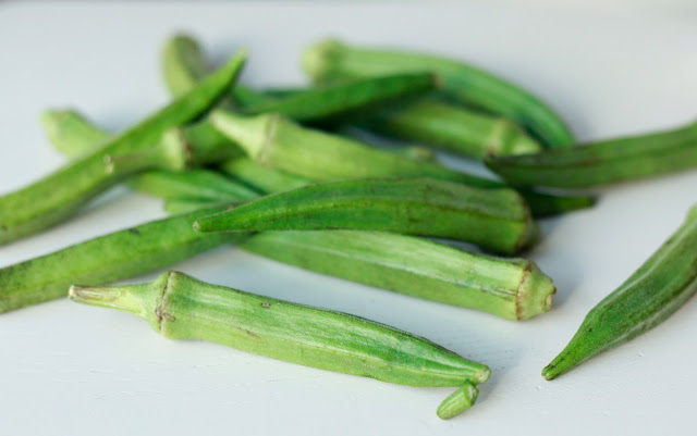 how to choose okra