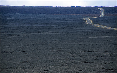 Big Island of Hawaii - Lava plain