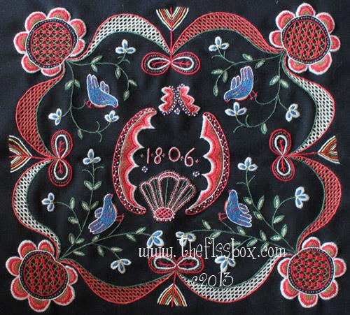 The Floss Box Swedish Wool Embroidery